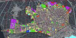 طرح تفصیلی شهر علی آباد کتول به همراه نقشه اتوکدی